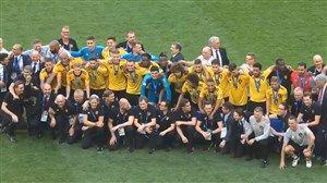 فیلم/ اهدای مدال برنز جام جهانی ۲۰۱۸ به تیم ملی بلژیک