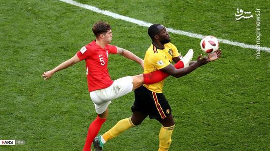 عکس/پیروزی دوباره بلژیک مقابل انگلیس