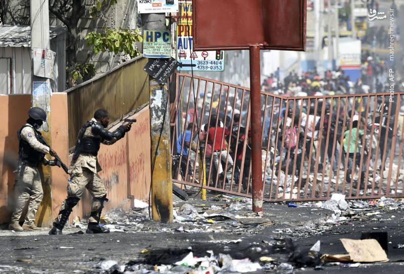 درگیری مردم و پلیس بر سر افزایش قیمت سوخت در هائیتی