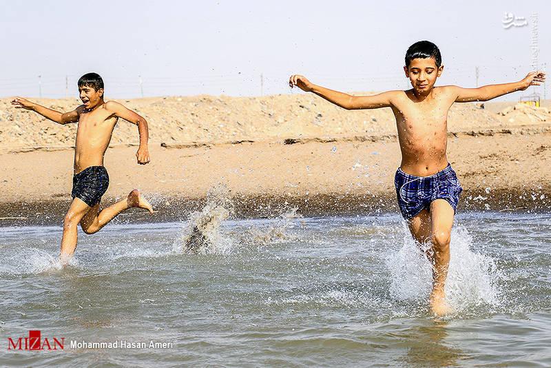 2293392 - تفریح تابستانه بچههای کارون