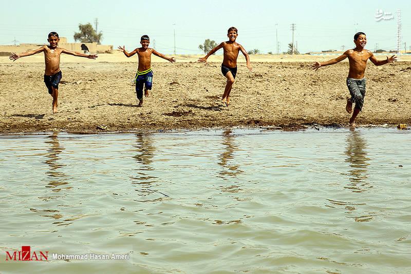 2293397 - تفریح تابستانه بچههای کارون