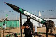 اصابت موشک به دمشق+ فیلم