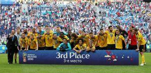 عکس/ دیدنیهای دیدار تیمهای بلژیک و انگلیس