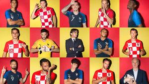 پیش بازی فرانسه و کرواسی
