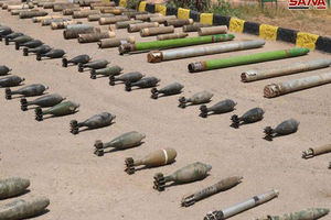 فیلم/کشف سلاح های آمریکایی در البوکمال
