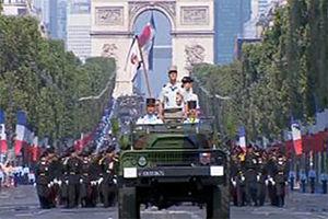 فیلم/ حاشیه طنز جشن روز ملی فرانسه!