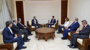 اسد: روابط سوریه و ایران در عالی ترین سطح ادامه می یابد