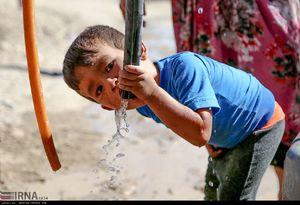 عکس/ بحران آب در یک روستای دورافتاده!