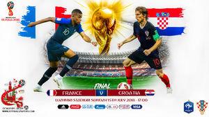 ترکیب تیمهای فرانسه و کرواسی اعلام شد +عکس