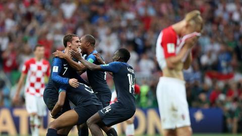 فیلم/ خلاصه دیدار فینال جام جهانی؛ فرانسه 4-2 کرواسی