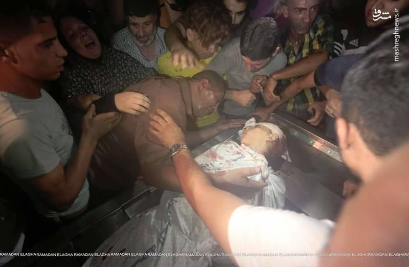 "پیکر ""امير النمرة"" شهید 15 ساله فلسطینی"