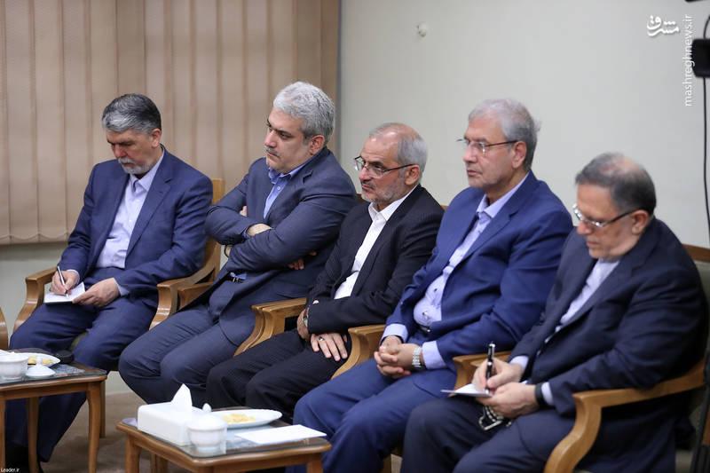 دیدار هیئت دولت با رهبر معظم انقلاب