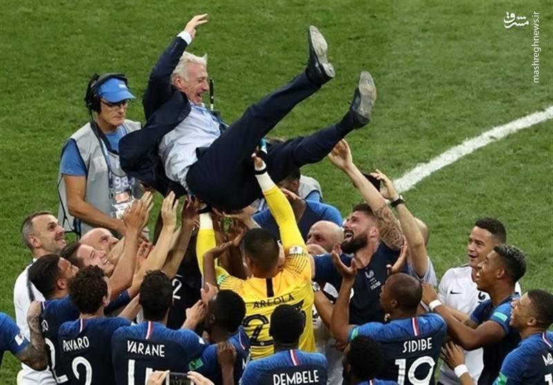 جشن قهرمانی فرانسه