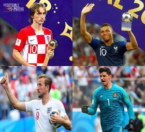 عکس/ بهترینهای جام جهانی 2018 روسیه