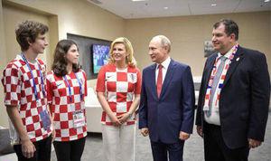عکس/ همسر و فرزندان رئیس جمهور کرواسی