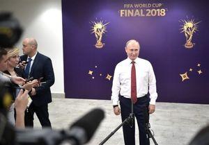 جمع بندی پوتین از بازیهای جام جهانی«۲۰۱۸»