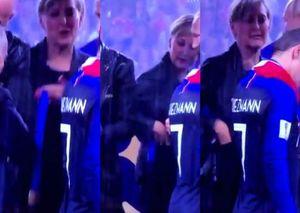 سرقت مدال طلا توسط زن همراه پوتین؟ +عکس و فیلم