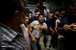 عکس/ بمباران غزه توسط جنگنده های صهیونیستی