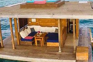 عکس/ هتلی شناور روی آب های اقیانوس!