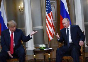 عکس/ دیدار پوتین و ترامپ در فنلاند