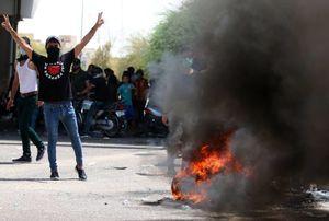 عکس/ تشدید اعتراضات در بصره