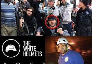 افشای طرح آمریکایی برای انتقال کلاه سفیدها از سوریه
