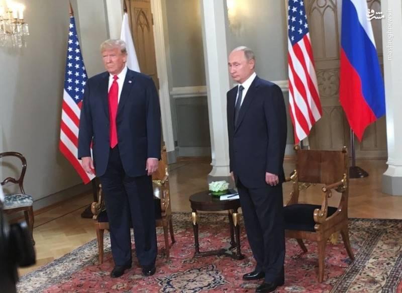 ترامپ و پوتین در هلسینکی دیدار کردند +عکس