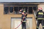 آتشسوزی ساختمان تجاری در چهارراه ولیعصر +عکس