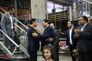 عکس/ بازگشت تیم داوری ایران از جام جهانی