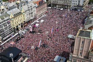 فیلم/ استقبال بینظیر کرواتها از تیم ملی کرواسی