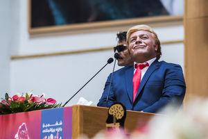 فیلم/ سخنرانی ترامپ در سالن اجلاس سران تهران