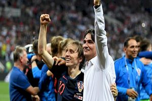 فیلم/ تشکر جانانه بازیکنان کرواسی از دالیچ