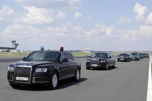عکس/ کاروان حفاظت پوتین