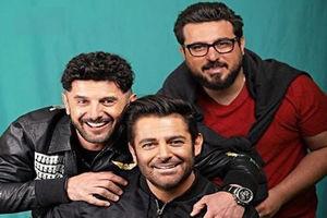 فیلم/ حادثه در حین فیلمبرداری سریال ساخت ایران