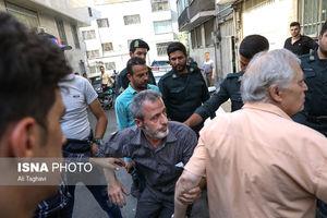 عکس/ پاساژ دراکولای تهران پلمب شد