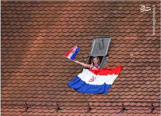 استقبال مردم کرواسی از تیم ملیشان