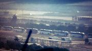 ورود ۶۰ اتوبوس به شهرکهای محاصرهشده الفوعه و کفریا + عکس