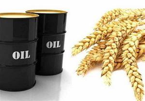 نفت نمایه نفت برابر غذا