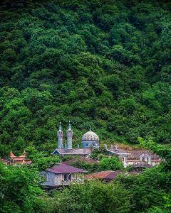 عکس/ امامزادهای در دل جنگلهای گیلان