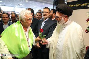 عکس/ بدرقه اولین کاروان حجاج ایرانی ۹۷,