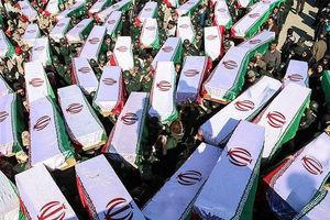 فیلم/ ورود پیکر مطهر 75 شهید دفاع مقدس به کشور