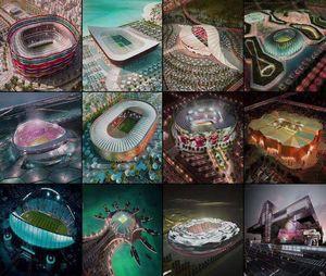 عکس/ ورزشگاههای میزبان جام جهانی 2022