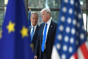 فیلم/ آغاز مرحله جدیدی از جنگ تجاری اروپا و آمریکا