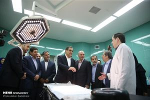 عکس/ افتتاح بیمارستان به همت بنیاد برکت