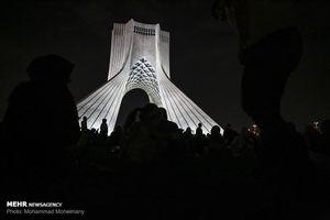 هزار توی زمان در برج آزادی