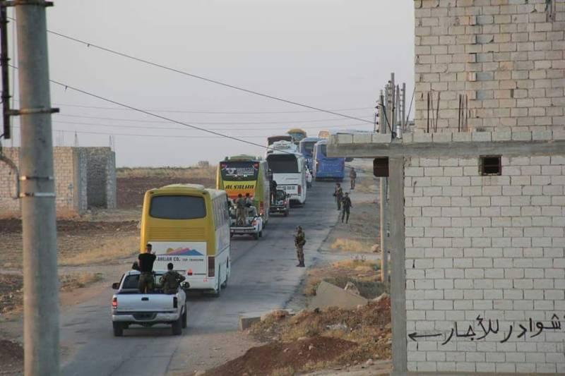 آزادی ۵ هزار و ۶۱۰ تن از شهروندان الفوعه و کفریا پس از ۴ سال محاصره/ جزئیات کارشکنی تروریستها در اجرای توافق + نقشه میدانی و تصاویر