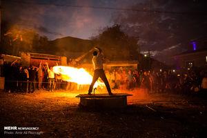 عکس/ جشن پیروزی فریدون بر ضحاک در آمل