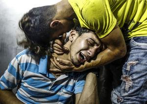 شهادت دو نوجوان 15 و 16 ساله در خیابان های غزه به دلیل بمباران رژیم صهیونیستی