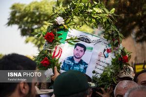 عکس/ تشییع شهید مدافع وطن در سنندج