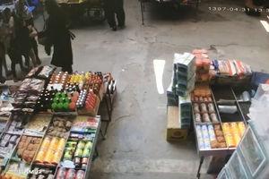 فیلم/ ترس و فرار مردم در لحظه زلزله جوانرود